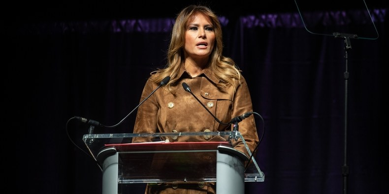 Melania Trump Was Booed in Public, But It's Not the First Time It's Happened to a First Lady